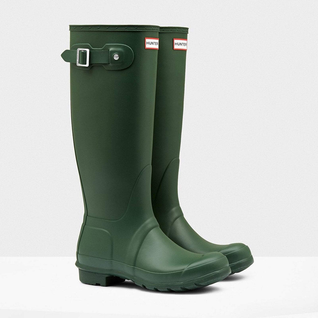 Hunter Footwear UK 4 / EU 37 / US 6 / Hunter Green Women's Original Tall Wellington Boots Hunter Green