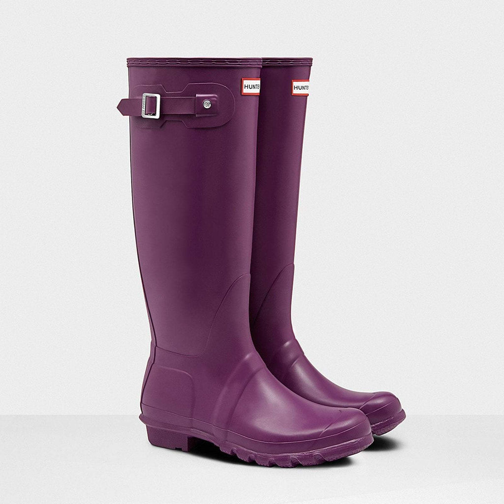 Hunter Footwear UK 4 / EU 37 / US 6 / Violet Women's Original Tall Wellington Boots Violet