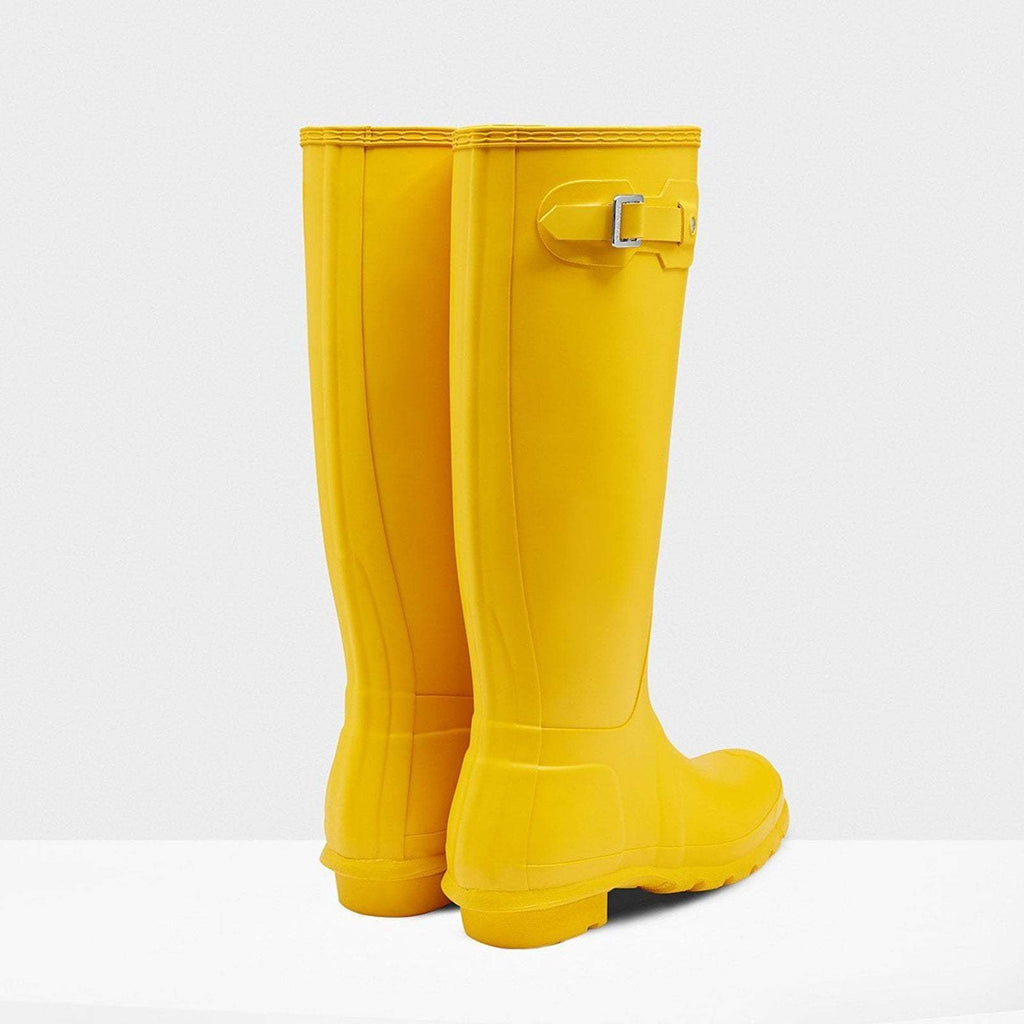 Hunter Footwear UK 4 / EU 37 / US 6 / Yellow Women's Original Tall Wellington Boots Yellow