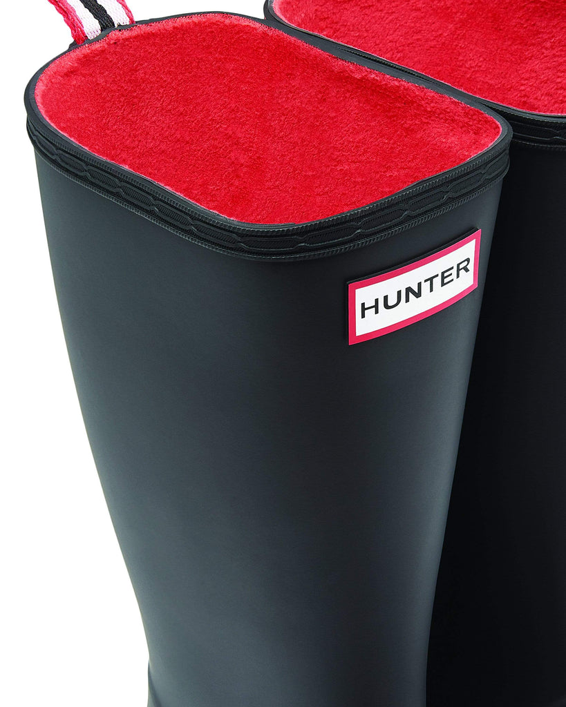 Hunter Footwear Womens Original Insulated Play Boot Tall Black