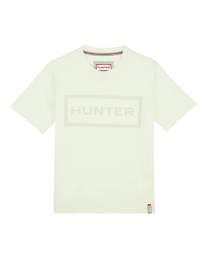 Hunter Footwear Womens Original T Shirt Off White