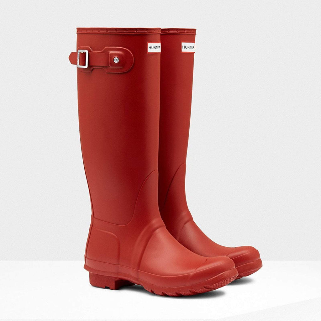 Hunter Welly UK 4 / EU 37 / US 6 / Red Women's Original Tall Wellington Boots Military Red
