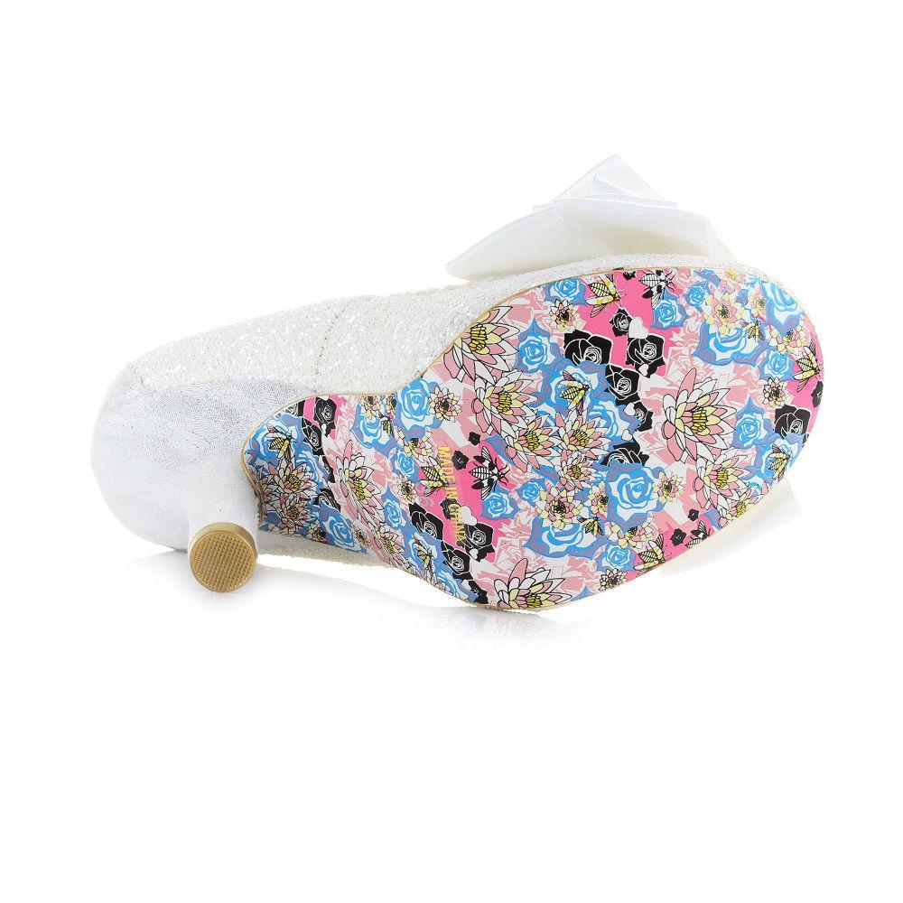 Irregular Choice Footwear UK 6.5 / EU 40 / US 9 / White Ascot - White