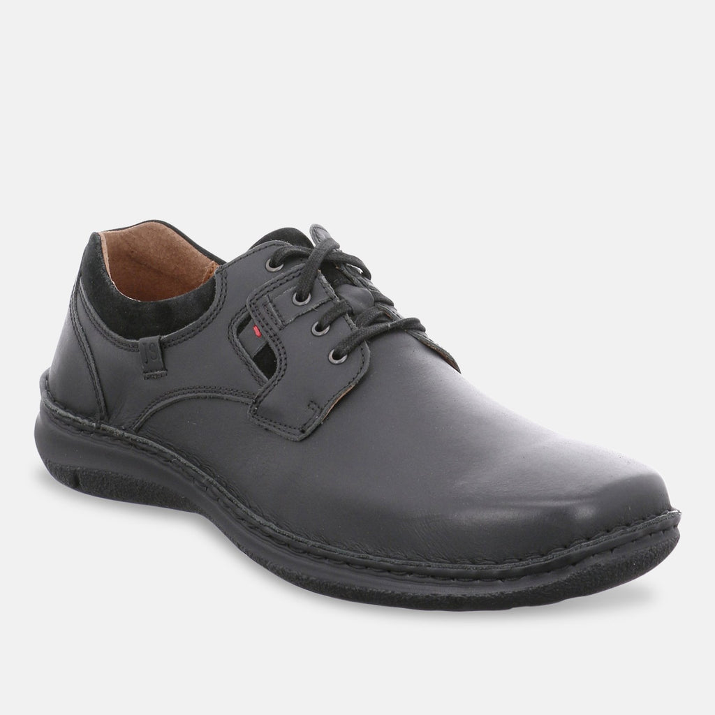 Josef Seibel Footwear UK 6.5 / EU 40 / US 7.5 / Black Josef Seibel Anvers 36 Black Men's Trainer- 43390 - 946600