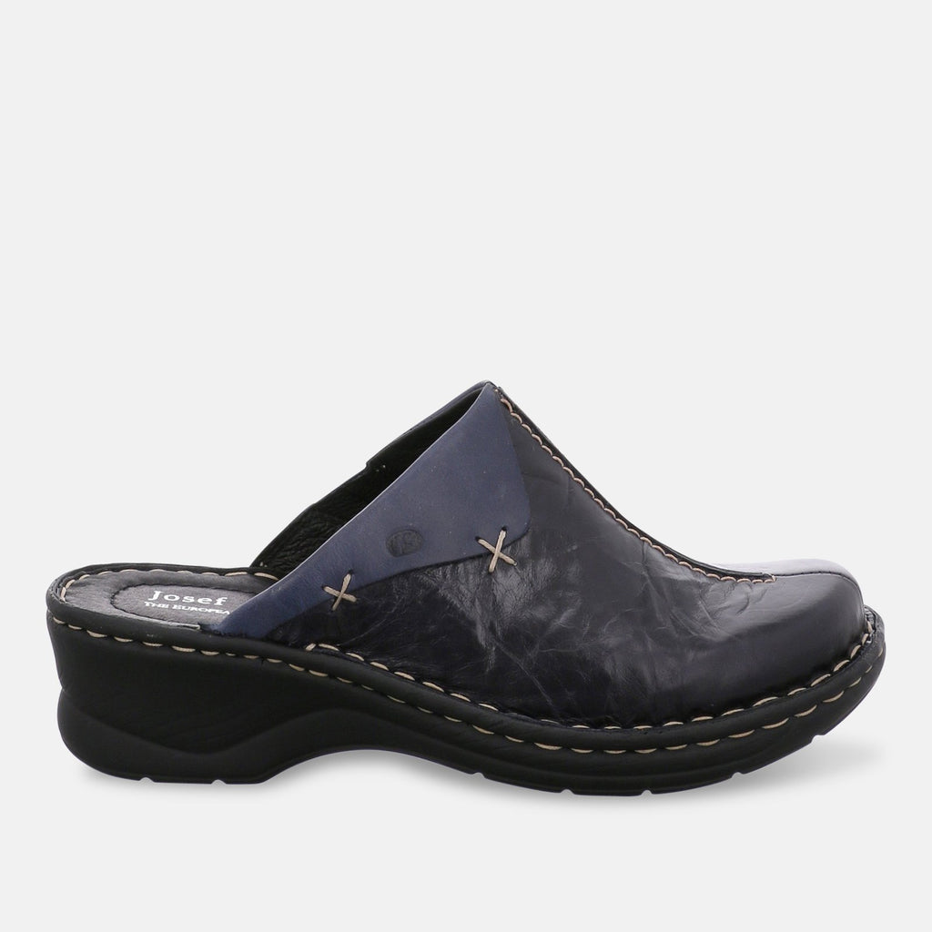 Josef Seibel Footwear UK 2 / EU 35 / US 4 / Blue (Ocean) Josef Seibel Catalonia 48, Women�������s Clogs - 56512-88590