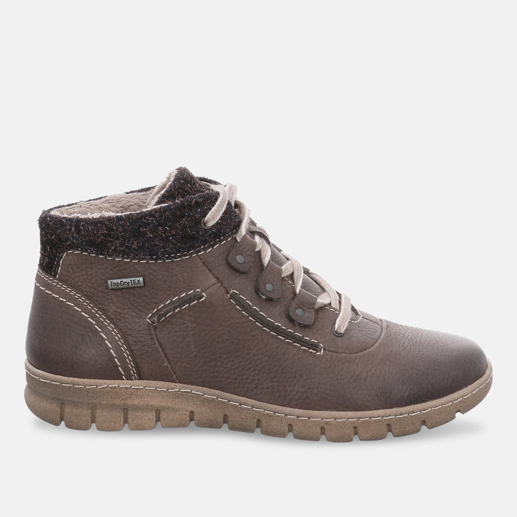 Josef Seibel Footwear UK 3 / EU 36 / US 5 / Brown (Moro) Josef Seibel Steffi Son 13, Women's Hi-Top Sneakers - 93152 - VL796330