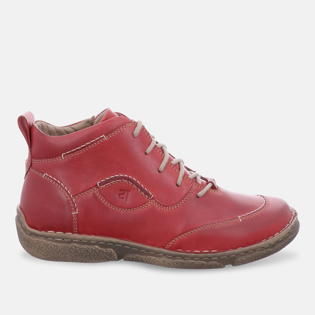 Josef Seibel Footwear UK 3 / EU 36 / US 5 / Red Josef Seibel Women's Neele 34 Boots - 85134 - 950400