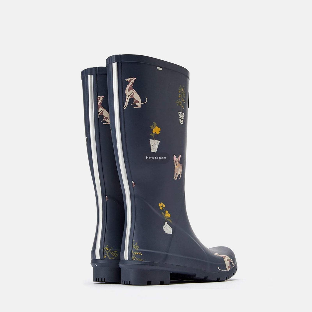 Joules Footwear UK 3 / EU 36 / US 5 / Grey 201037 Roll Up Welly Grey Dogs