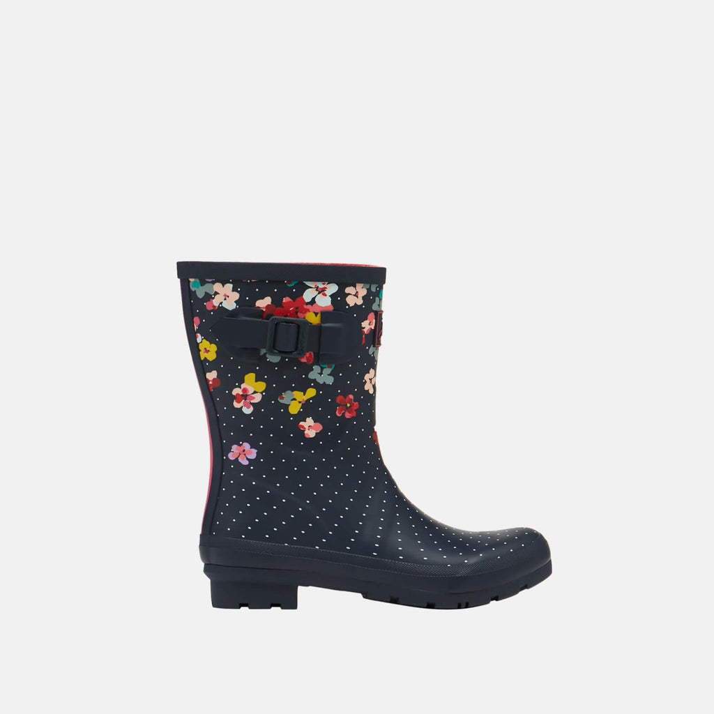 Joules Footwear 209675 Molly Welly Navy Blossom