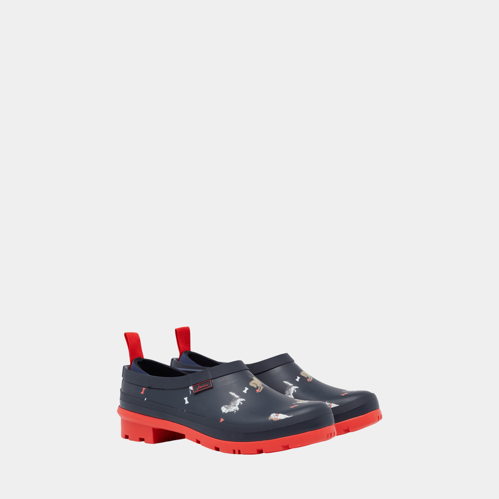 Joules Footwear 209677 Pop On Navy Dogs