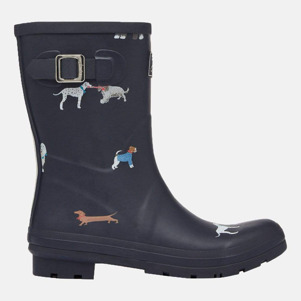 Joules Footwear Molly Welly Mayday Dogs