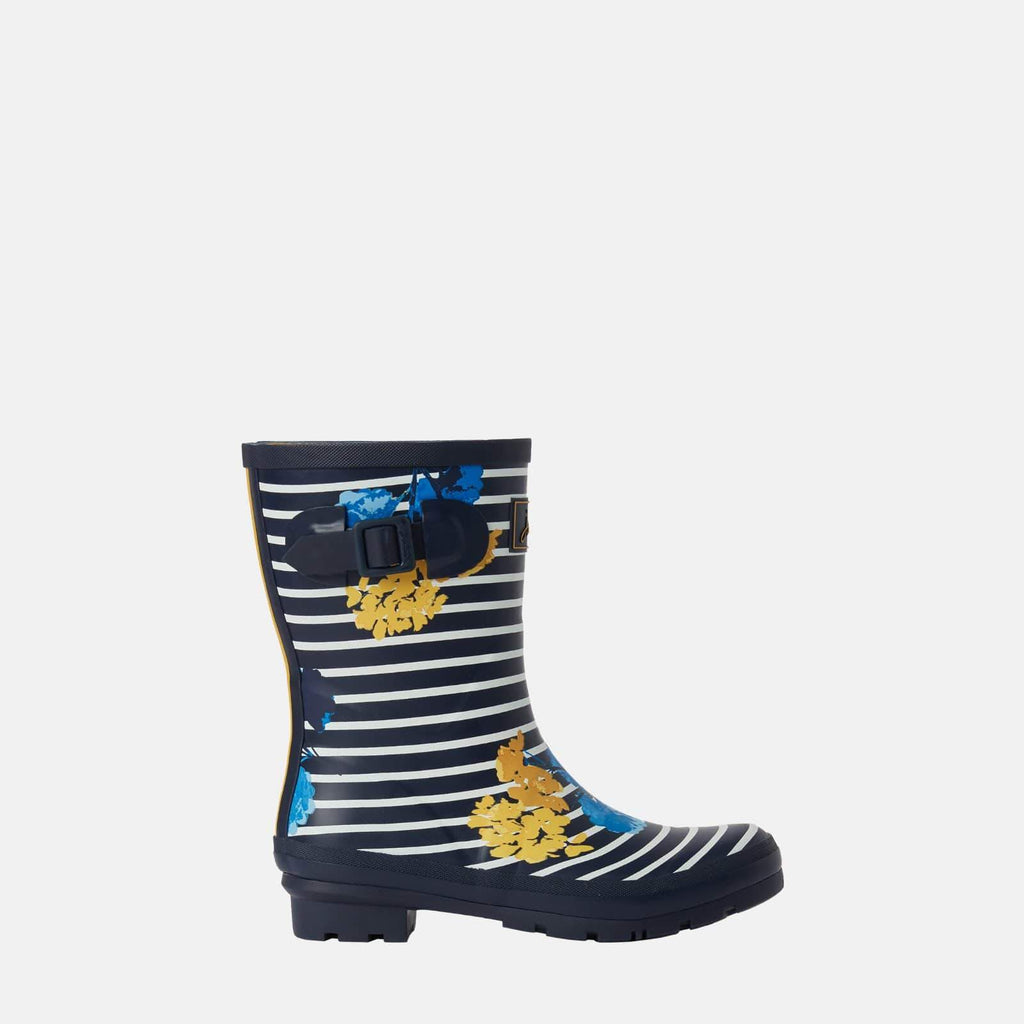 Joules Footwear Molly Welly Navy Lily Stripe