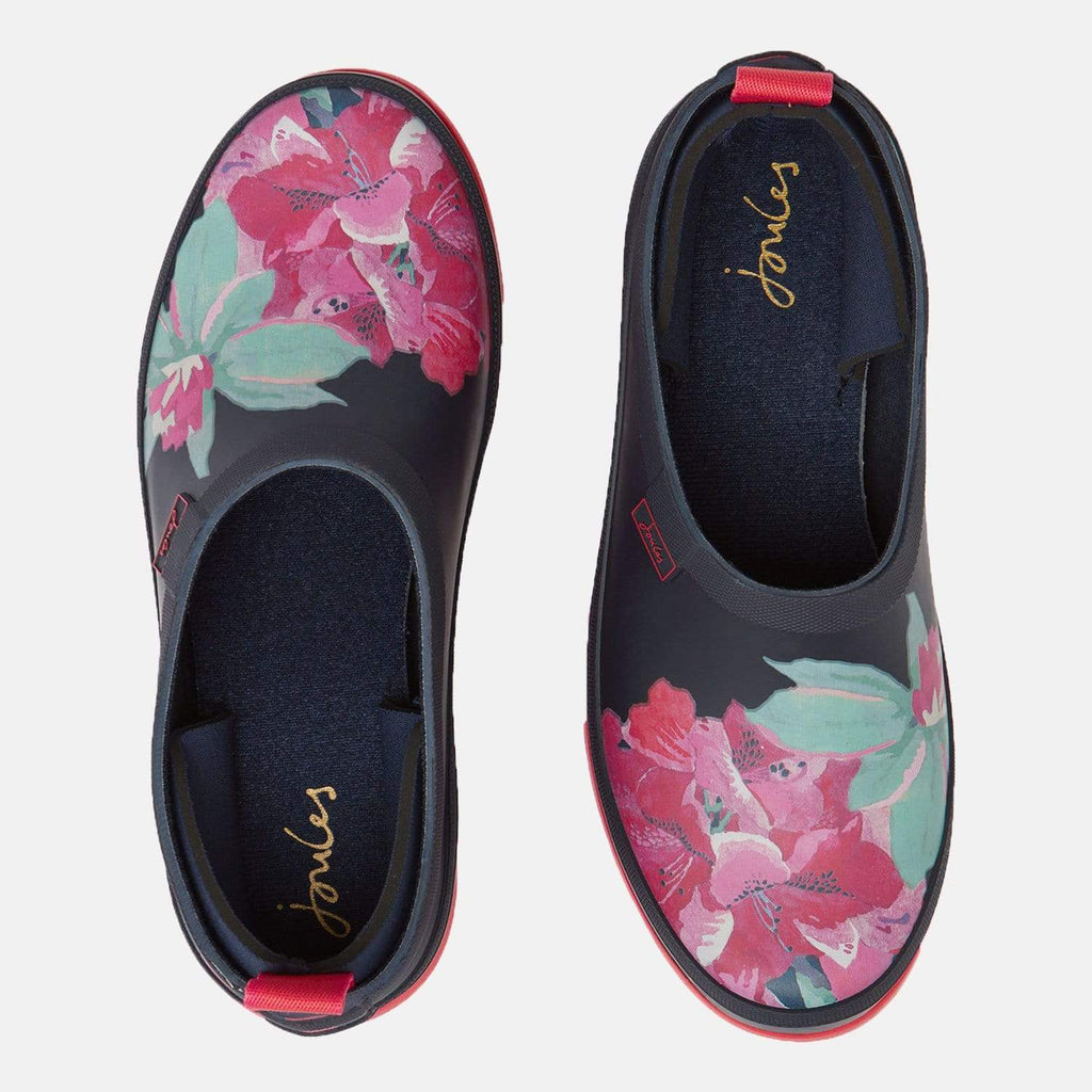 Joules Footwear Pop On Navy Floral