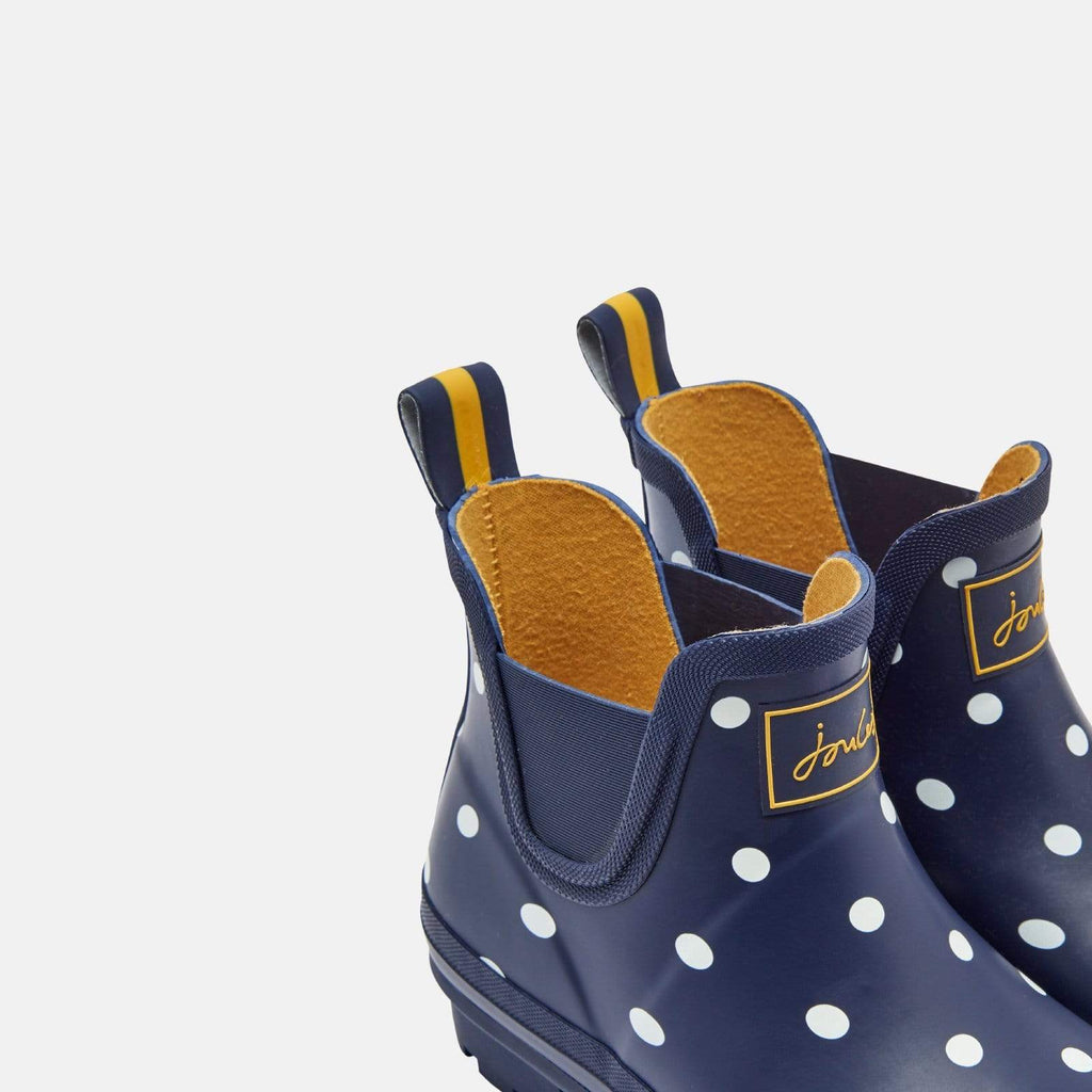 Joules Footwear Wellibob French Navy Spot