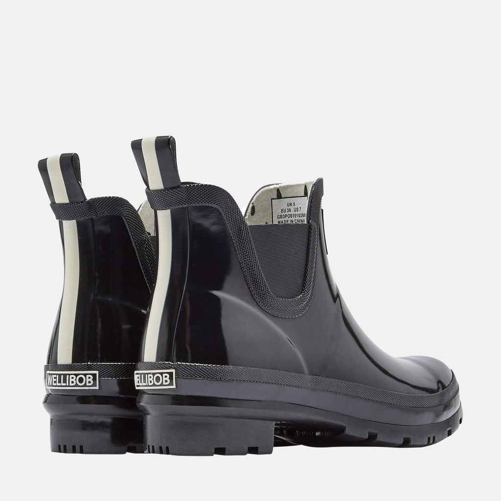 Joules Footwear Wellibob Gloss True Black