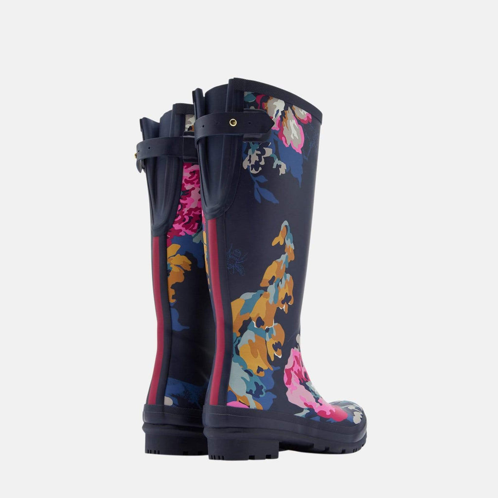 Joules Footwear Welly Print Cambridge Anniversary Floral