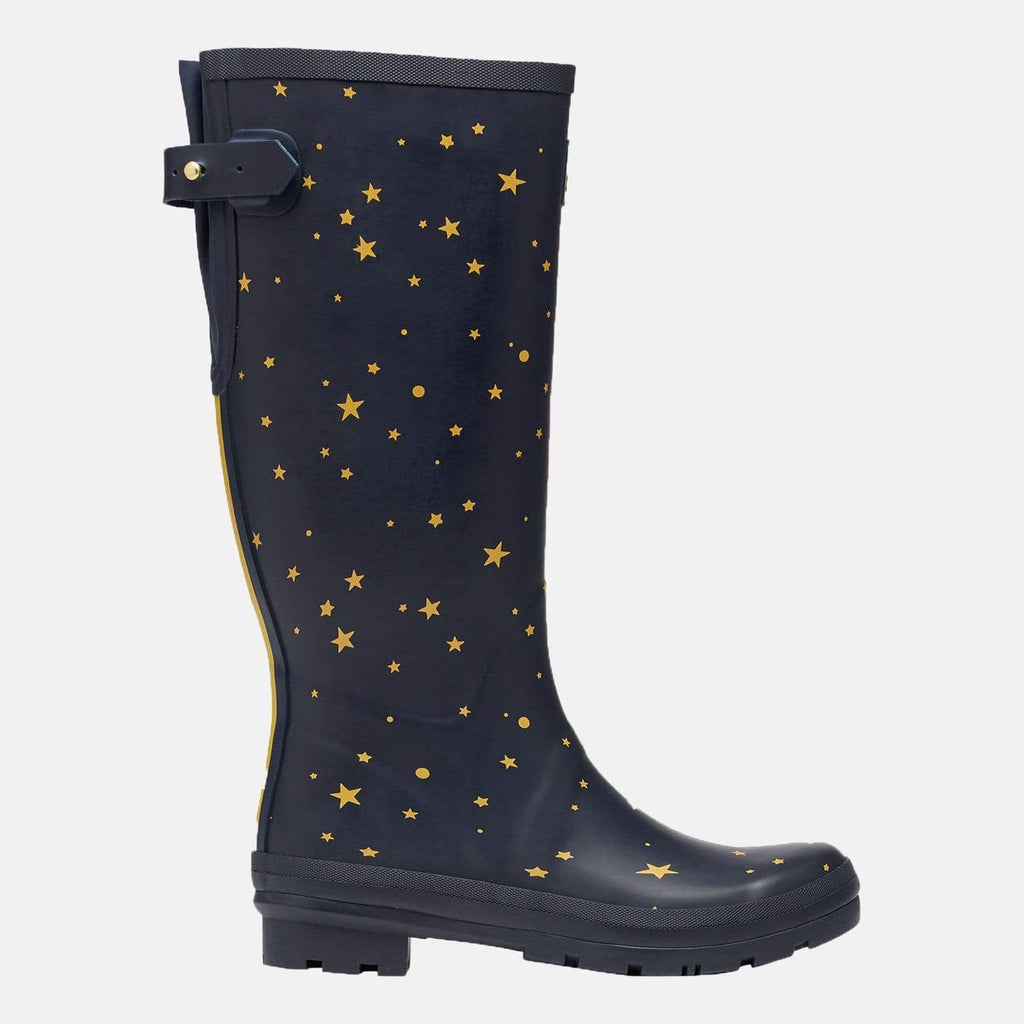 Joules Footwear Welly Print Star Gazing
