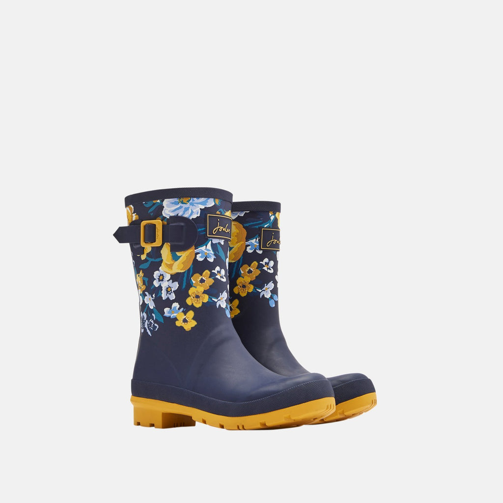 Joules Welly UK 3 / EU 36 / US 5 / Navy Botantical Molly Welly Navy Botantical