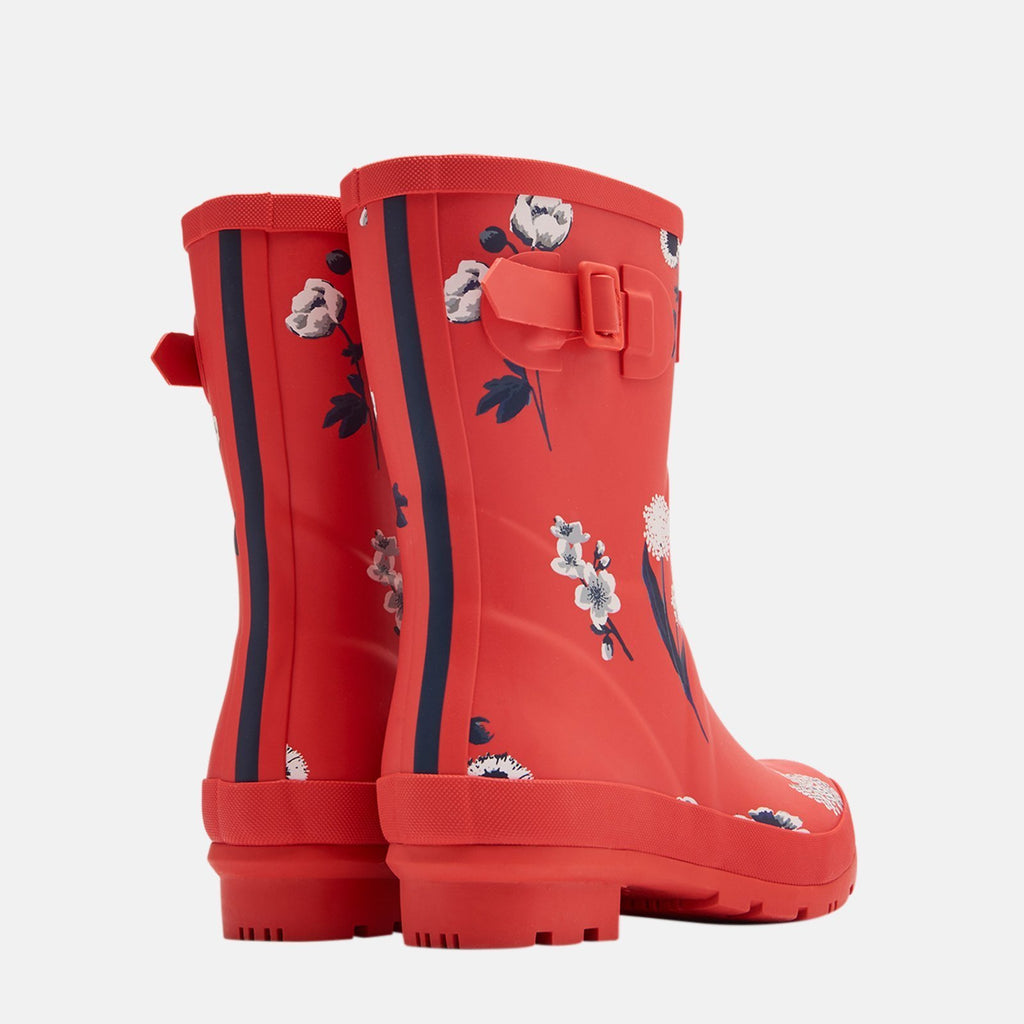 Joules Welly UK 3 / EU 36 / US 5 / Red Molly Welly Red Botanical