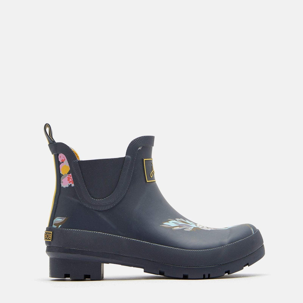 Joules Welly UK 3 / EU 36 / US 5 / Dark Grey Floral Wellibob Dark Grey Floral