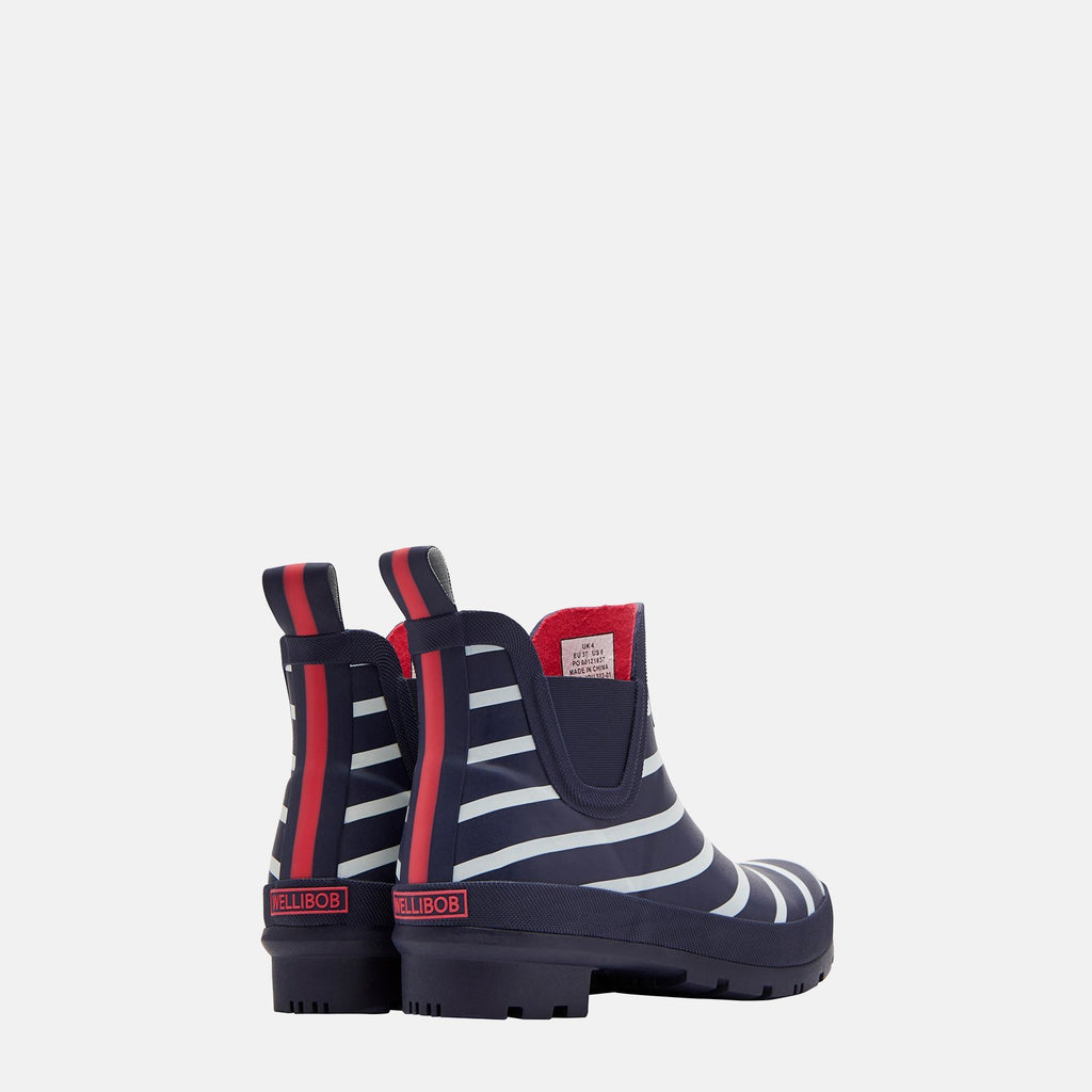 Joules Welly UK 3 / EU 36 / US 5 / French Navy Stripe Wellibob French Navy Stripe