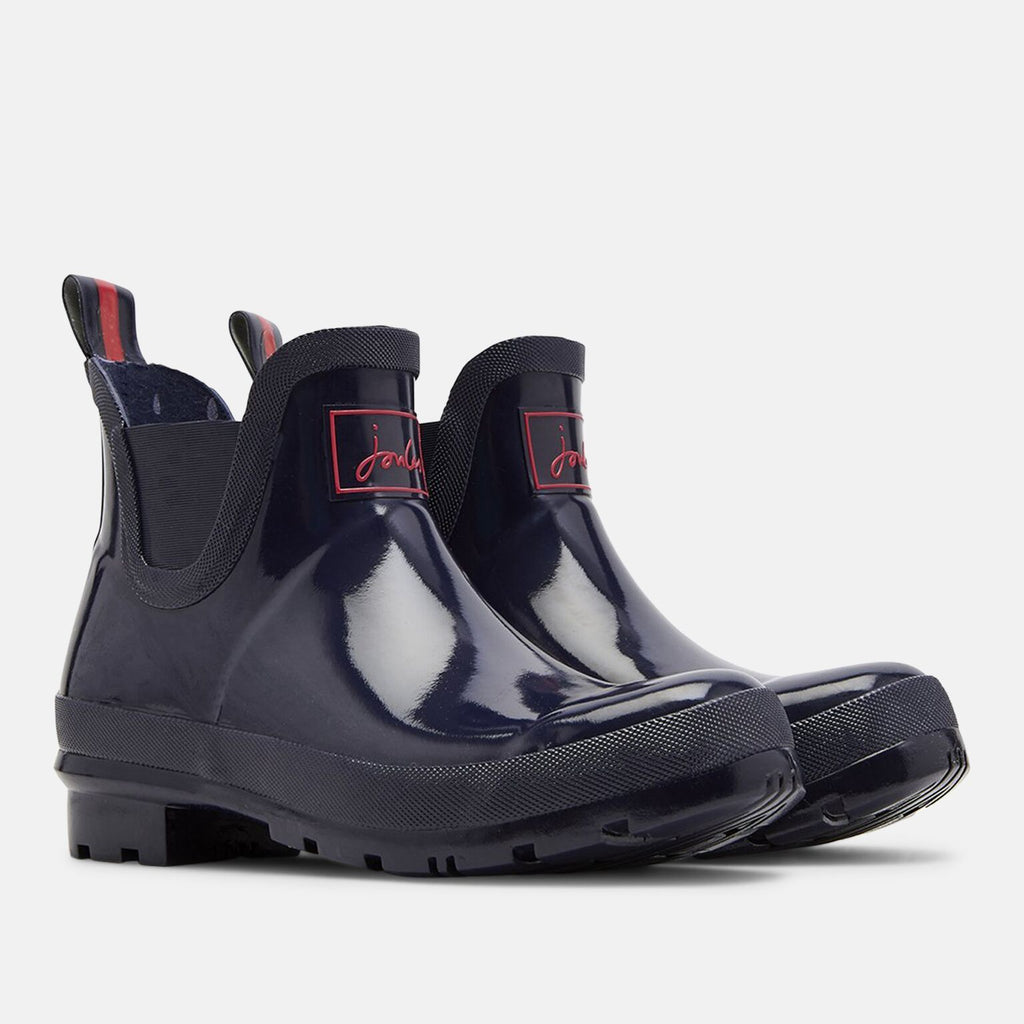 Joules Welly UK 4 / EU 37 / US 6 / Navy Wellibob Gloss French Navy