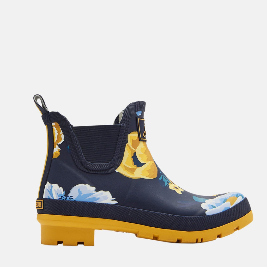 Joules Welly UK 3 / EU 36 / US 5 / Navy Wellibob Navy Botantical