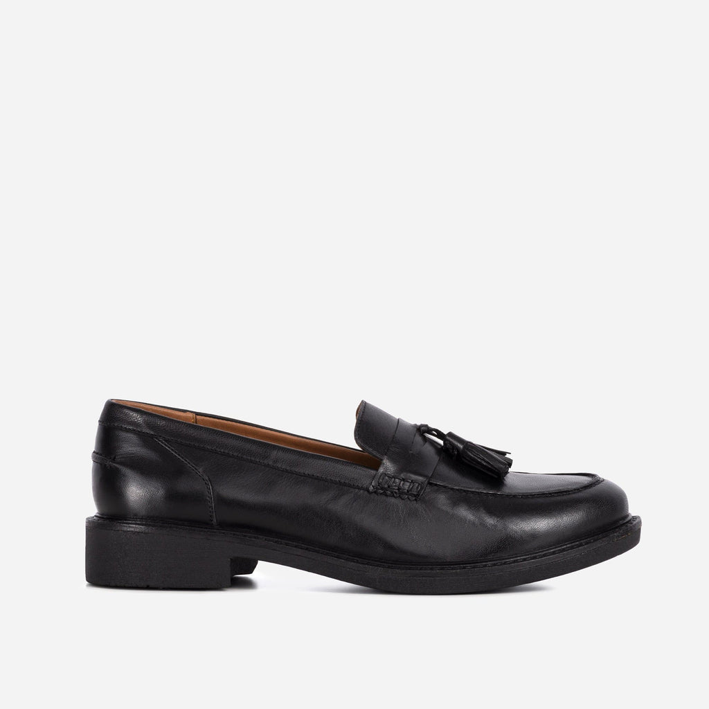 Larkin Footwear LADIES LAUREL BLACK LOAFER