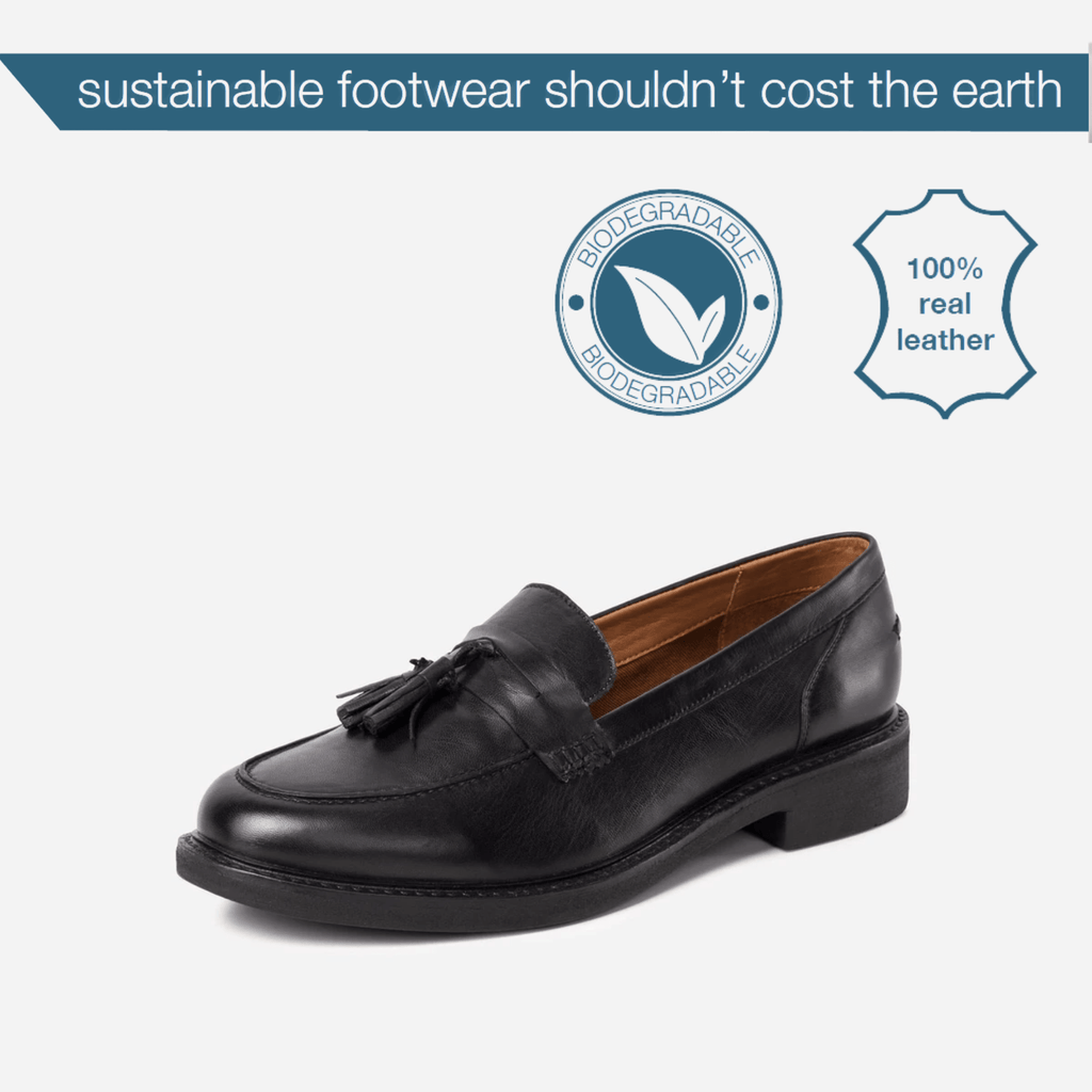 NEW! LARKIN (Enviro-Friendly) Footwear LADIES LAUREL BLACK LOAFER