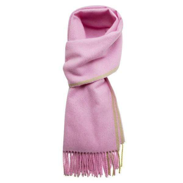 Redfoot Accessories One Size PINK LAMBS WOOL SCARF