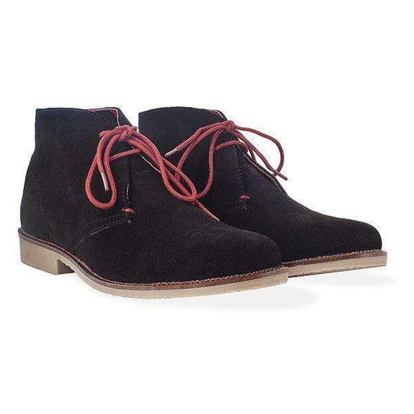 Redfoot Footwear ASHTON BLACK (red laces)
