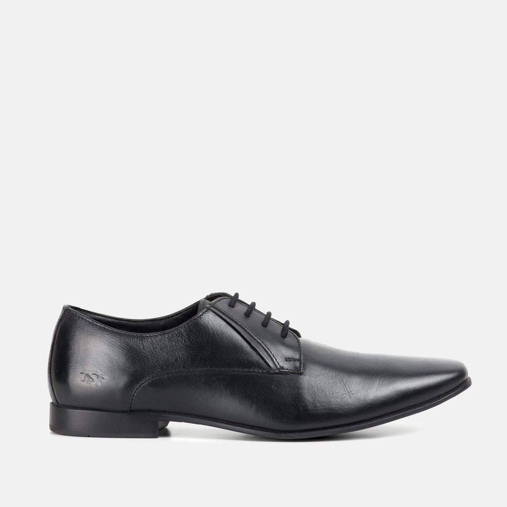Redfoot Footwear BOND BLACK LEATHER DERBY SHOE