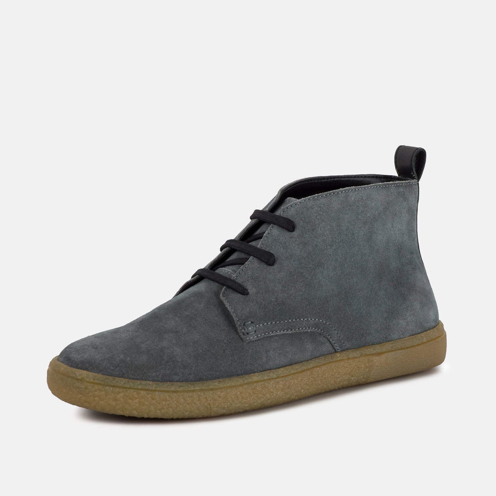 Redfoot Footwear MARSH STONE SUEDE DESERT BOOT