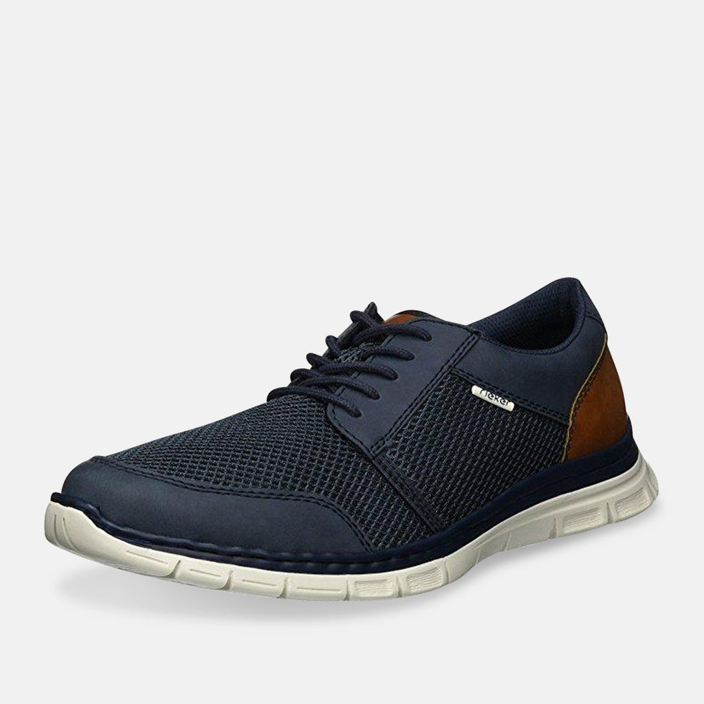 Rieker Footwear UK 9 / EU 43 / Brown / Blue 234428 B4832 - 14 Denim/At
