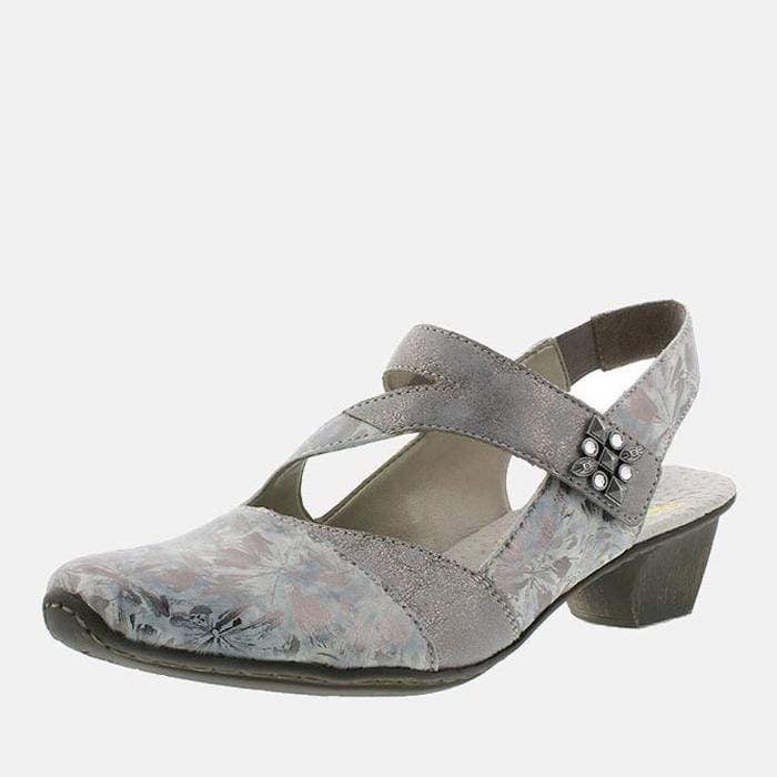 Rieker Footwear 49787-90 Grau-Metallic/Grey