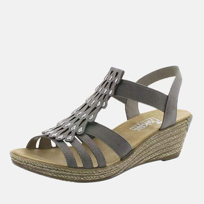 Rieker Footwear 62436-40 Grey
