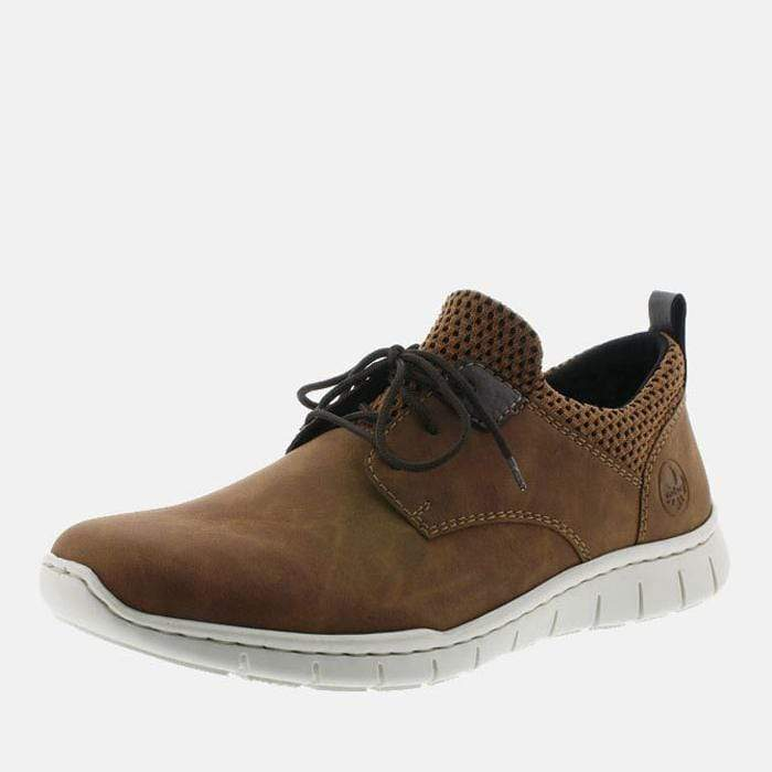 Rieker Footwear B8753-26 Mandel/Brown-Black/Kakao