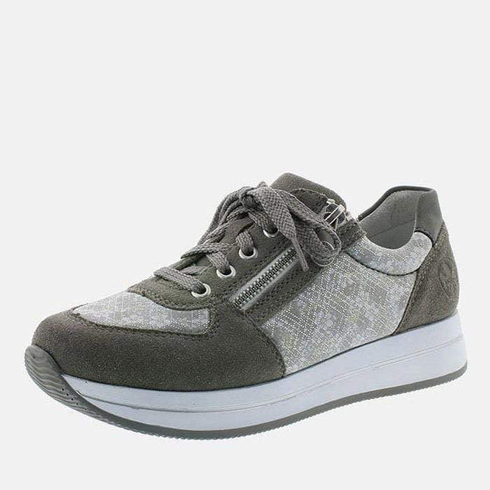 Rieker Footwear N4511-42 Dust/Silverflower/Cement