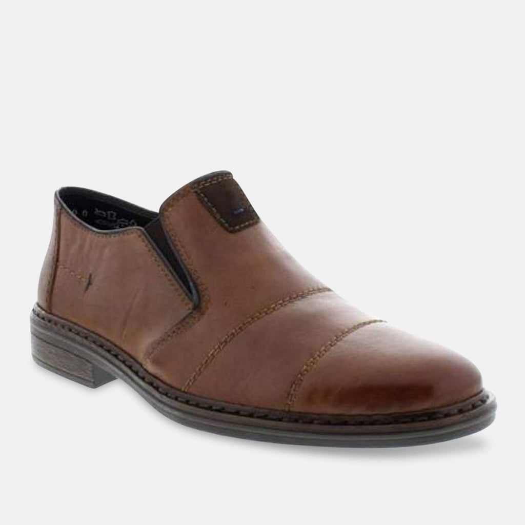 Rieker Footwear UK 6.5 / EU 40 / US 7.5 / Brown Rieker 17661-25 Brown Slip On Shoes