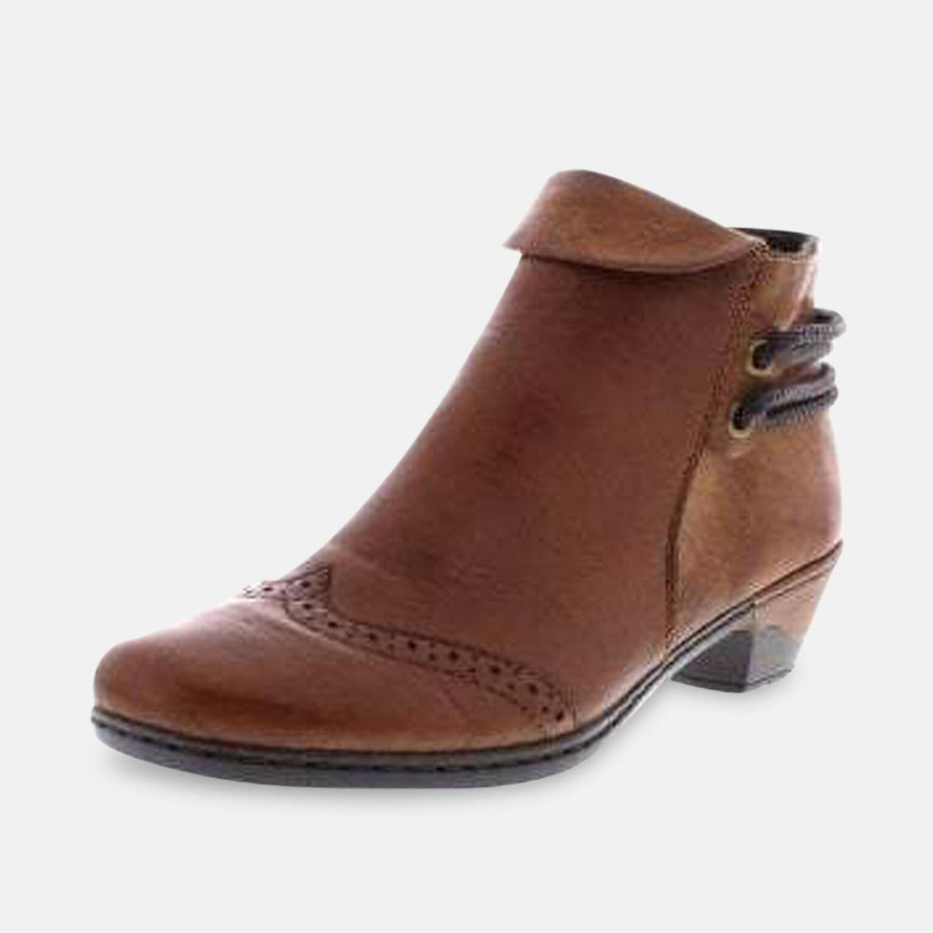 Rieker Footwear UK 3.5 / EU 36 / US 5.5 / Brown Rieker 76981-24 360