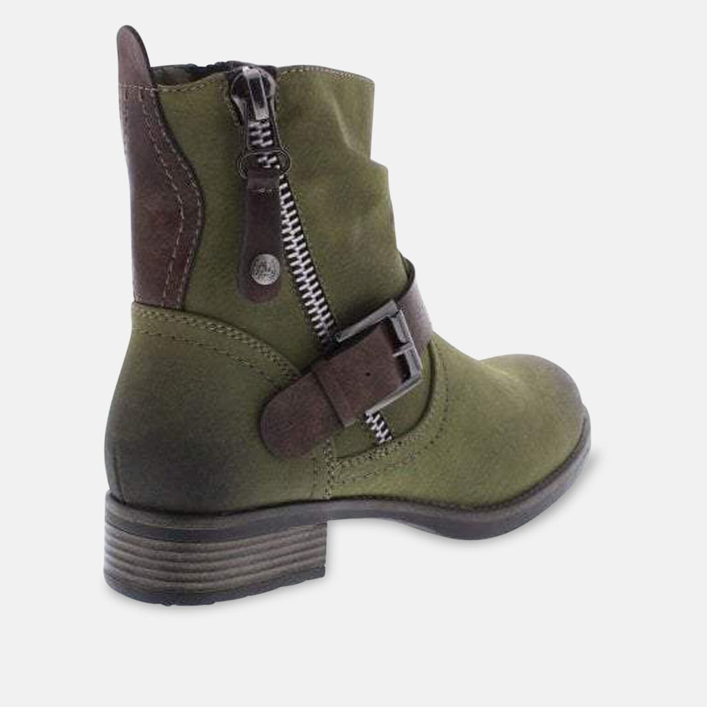 Rieker Footwear UK 3.5 / EU 36 / US 5.5 / Green Rieker 98870-54 Green Ankle Boots