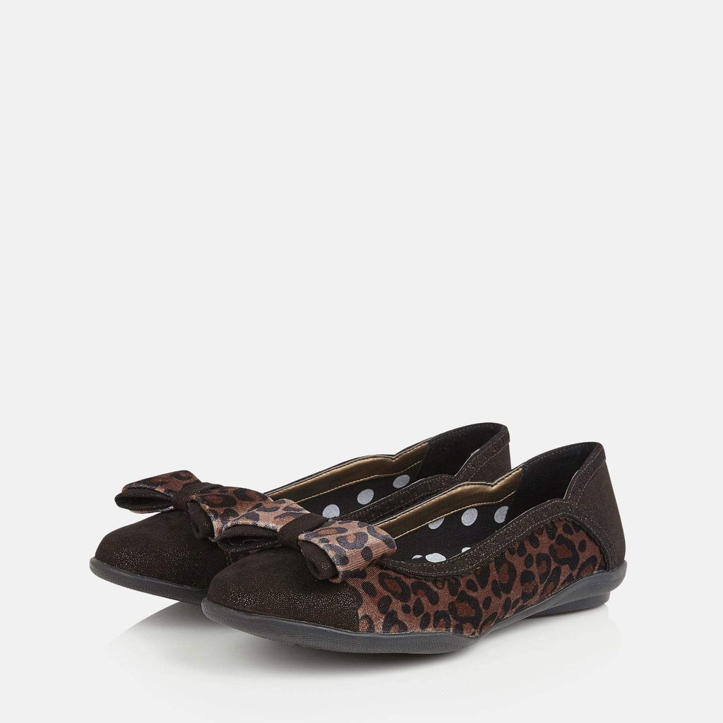 Ruby Shoo Footwear Amber Brown