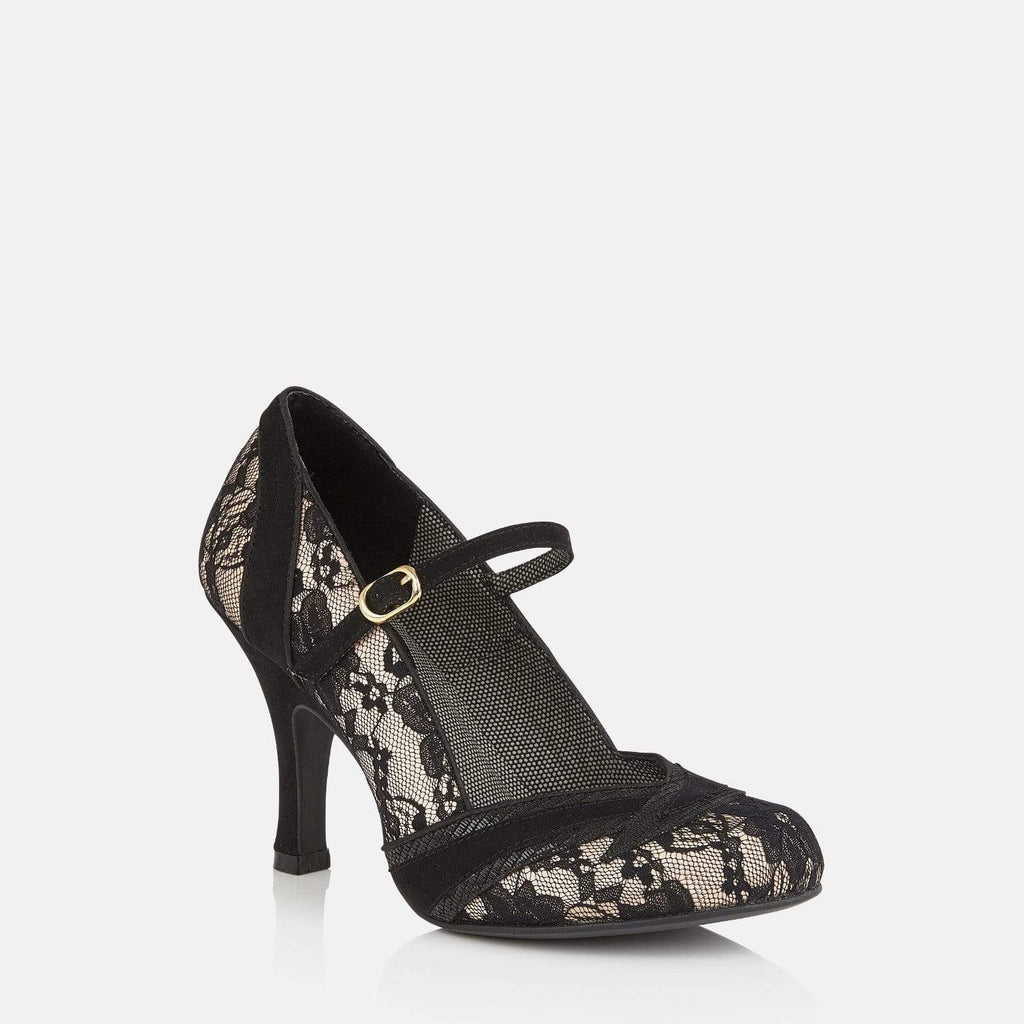 Ruby Shoo Footwear Delilah Black Lace
