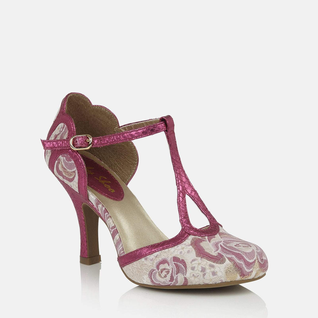 Ruby Shoo Footwear UK 2 / EU 35 / US 4 / Pink Polly Fuchsia