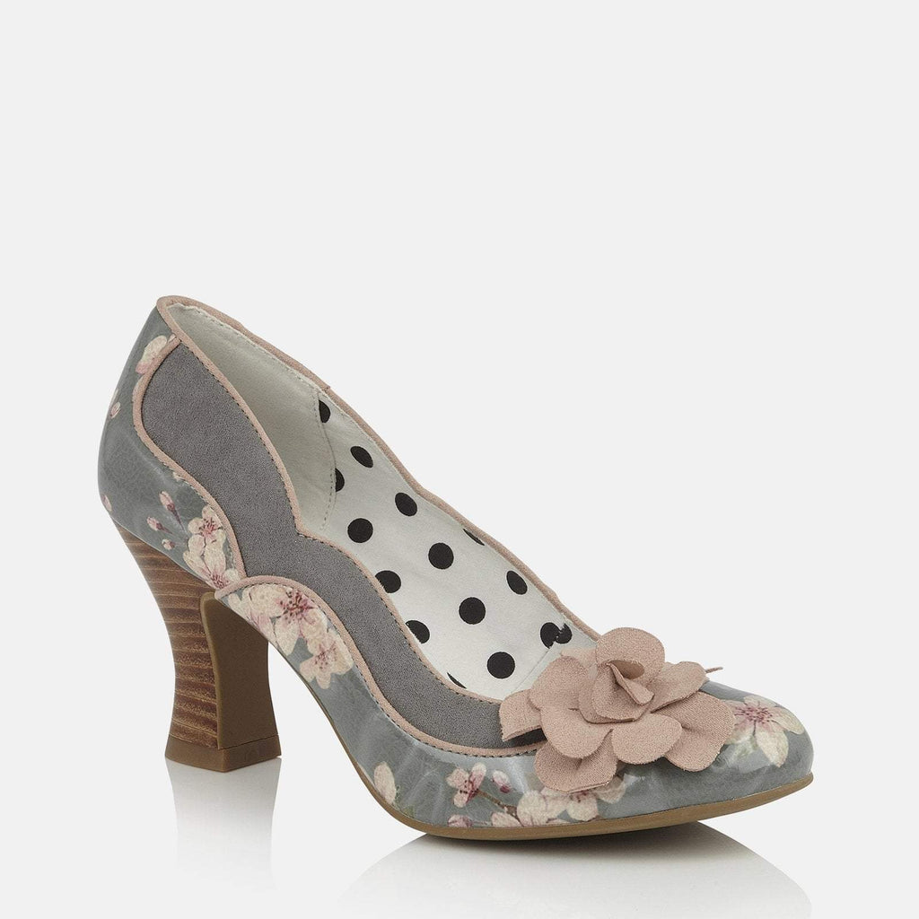 Ruby Shoo Footwear UK 2 / EU 35 / US 4 / Floral Viola Sage