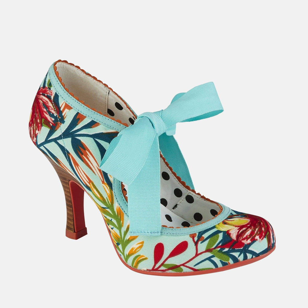 Ruby Shoo Footwear Willow Aqua