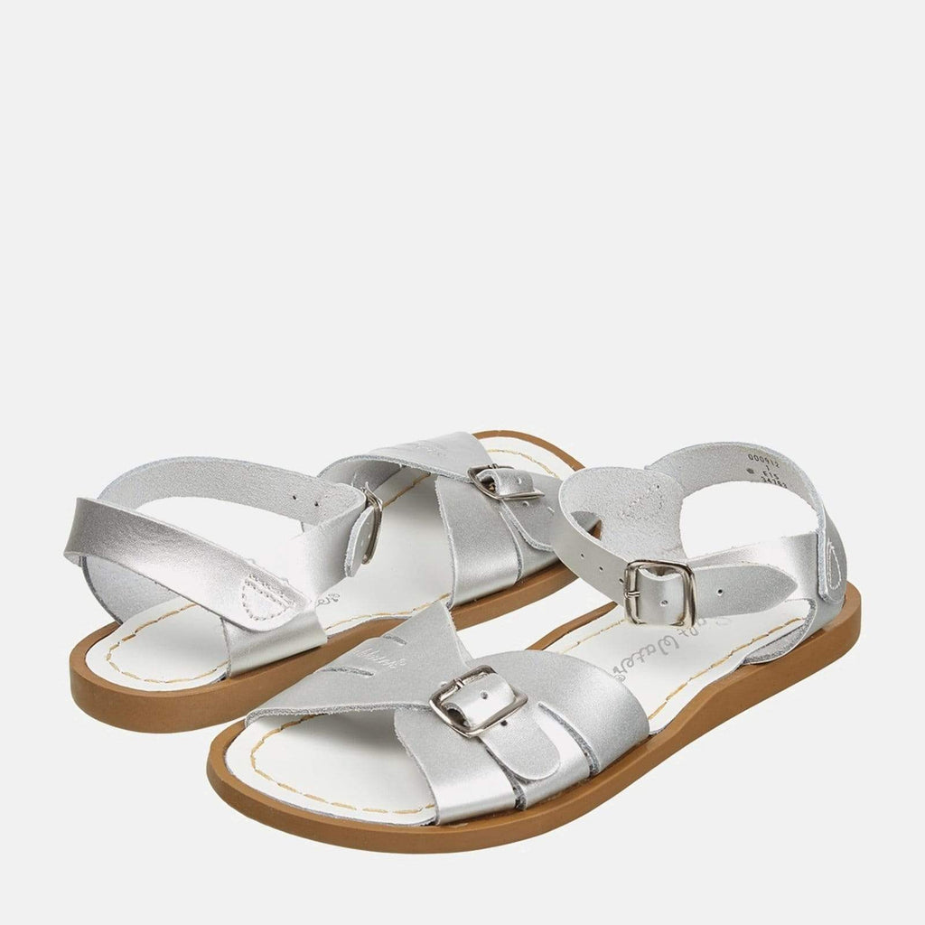 Salt-Water Footwear 3 UK / 4 SW / 36 EU / 6 US / Silver Salt-Water Classic Silver