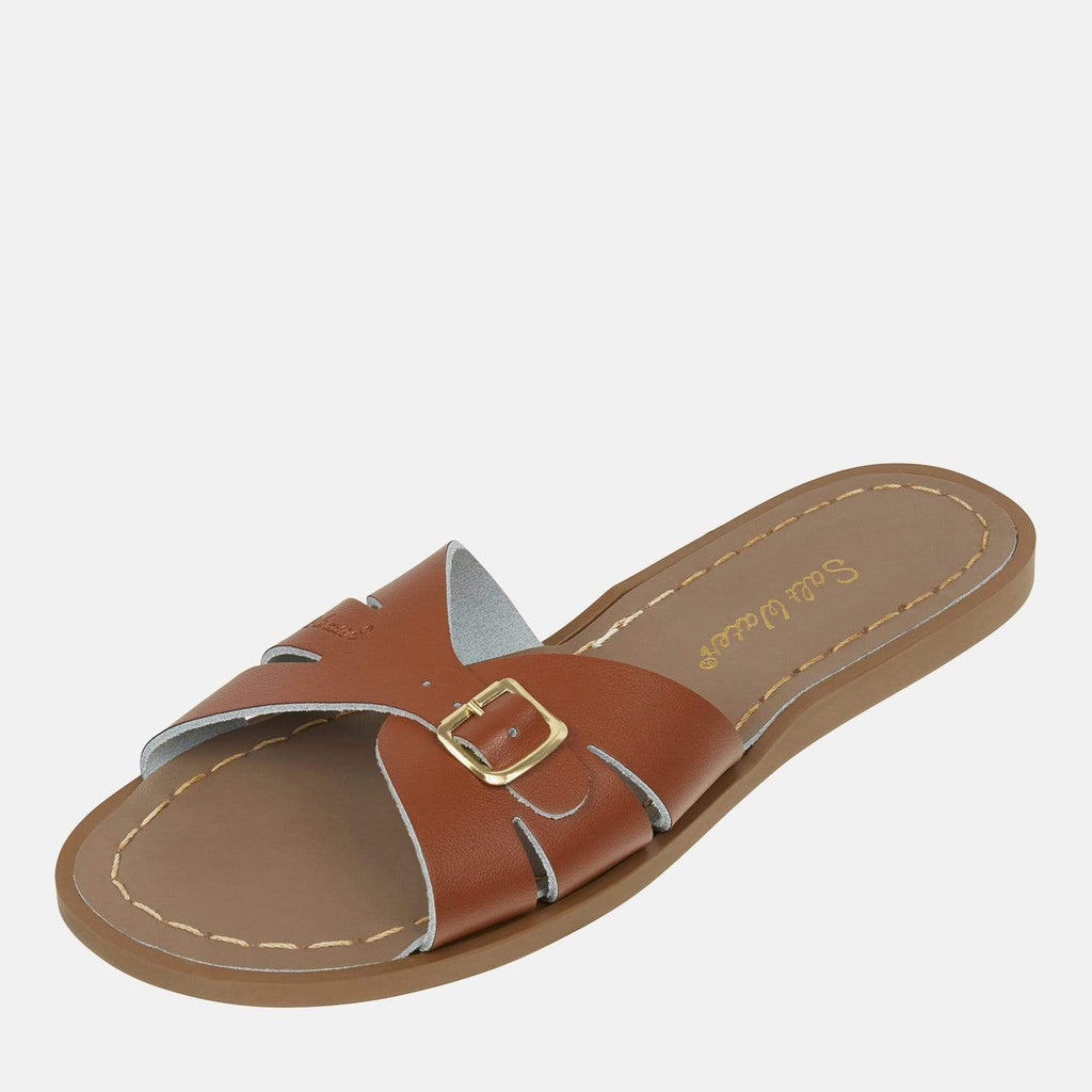Salt-Water Footwear 3 UK / 4 SW / 36 EU / 6 US / Tan Salt-Water Classic Slide Tan