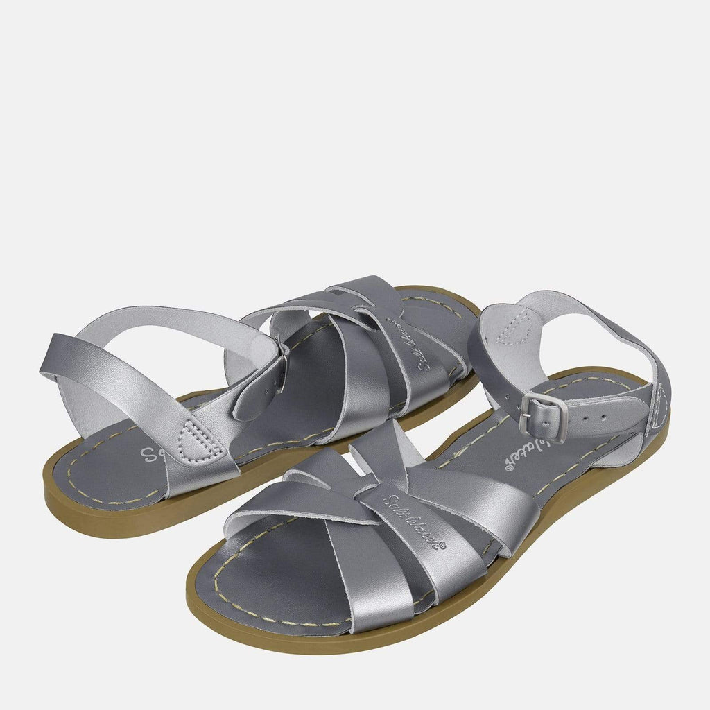 Salt-Water Footwear 3 UK / 4 SW / 36 EU / 6 US / Silver Salt-Water Original Pewter