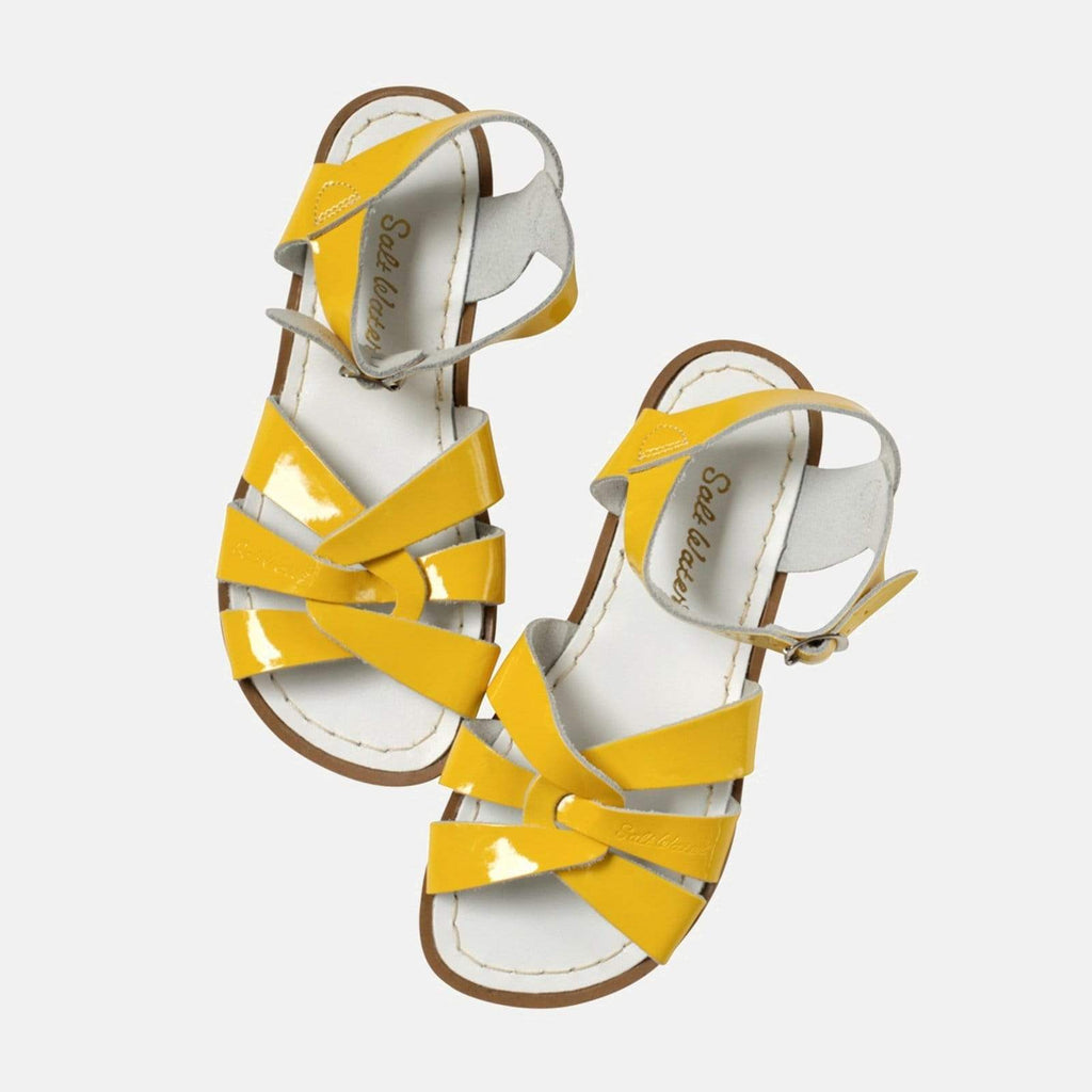 Salt-Water Footwear 3 UK / 4 SW / 36 EU / 6 US / Yellow Salt-Water Original Shiny Yellow